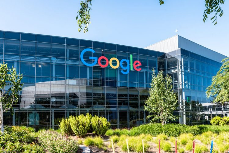 Mountain View, Ca/USA May 7, 2017: Googleplex - Google Headquarters office buildings