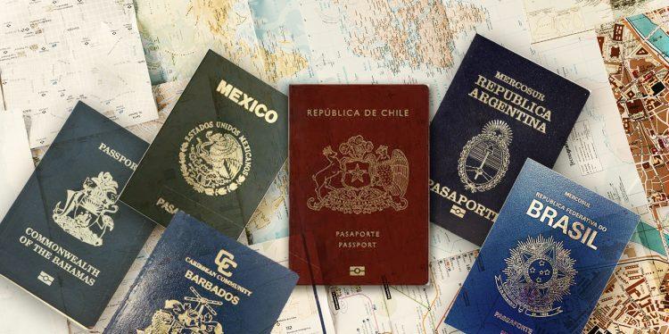 pasaportes latinoamericanos